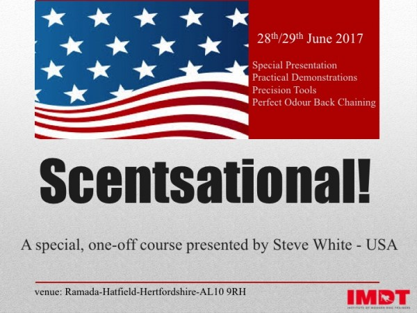 SCENTSATIONAL! 28th and 29th June 2017