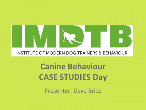 Behaviour Case Studies Day