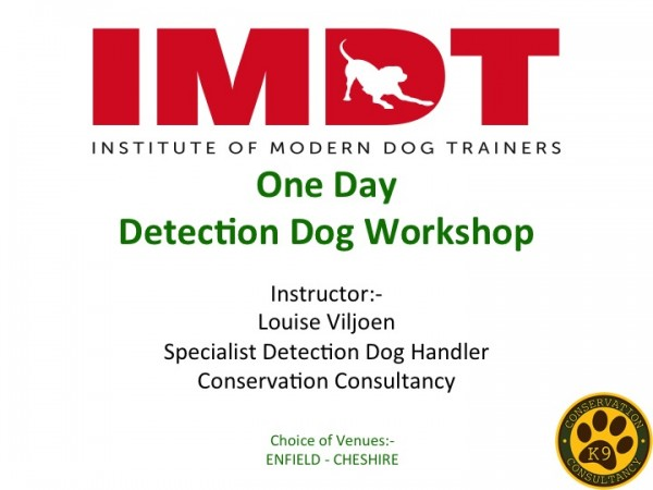 Detection Dog Workshop
